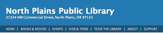 North Plains Public Library