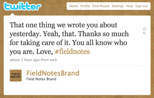Twitter _ Field Notes Brand_ That one thing we wrote yo ...