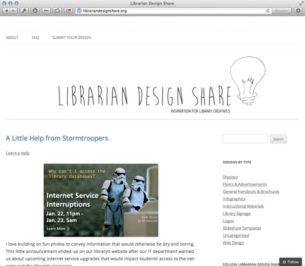 Librarian Design Share